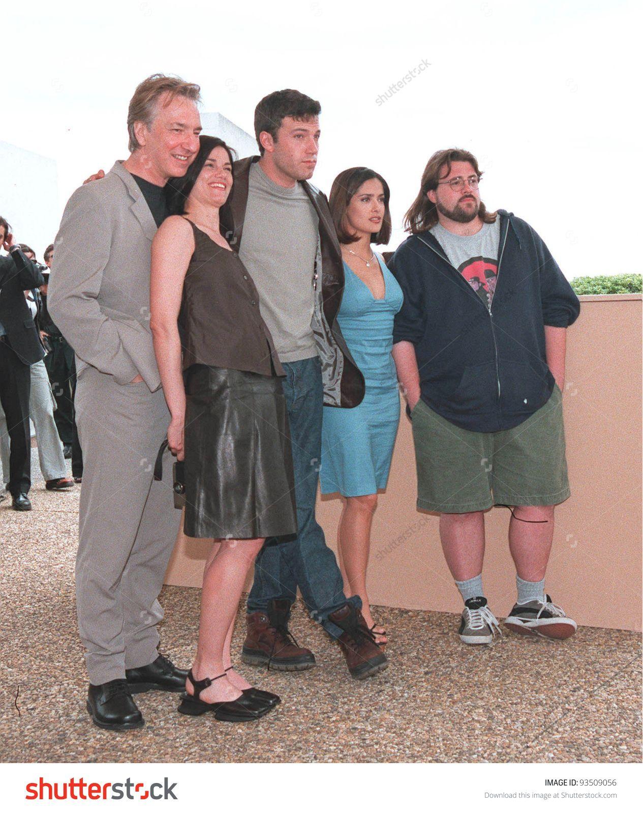 Alan Rickman And Dogma Cast Alan Rickman Linda Fiorentino Ben
