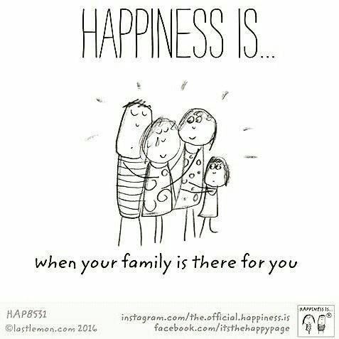 family happiness is Cute happy quotes, Happy