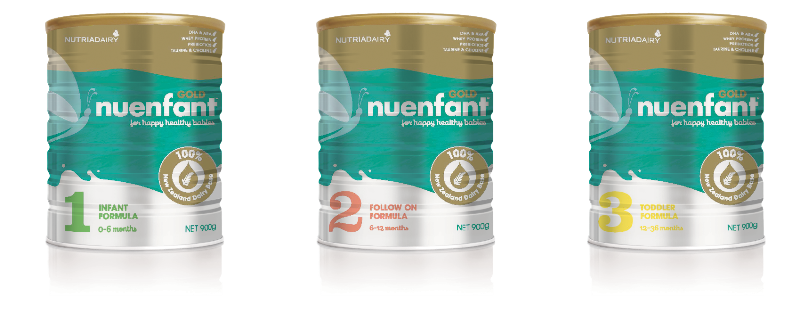 Nuenfant Gold - High-Quality Infant Formula - for babies from birth to 3 years.