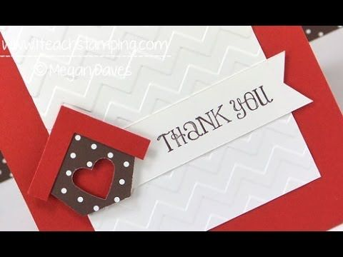 how to make your own thank you cards