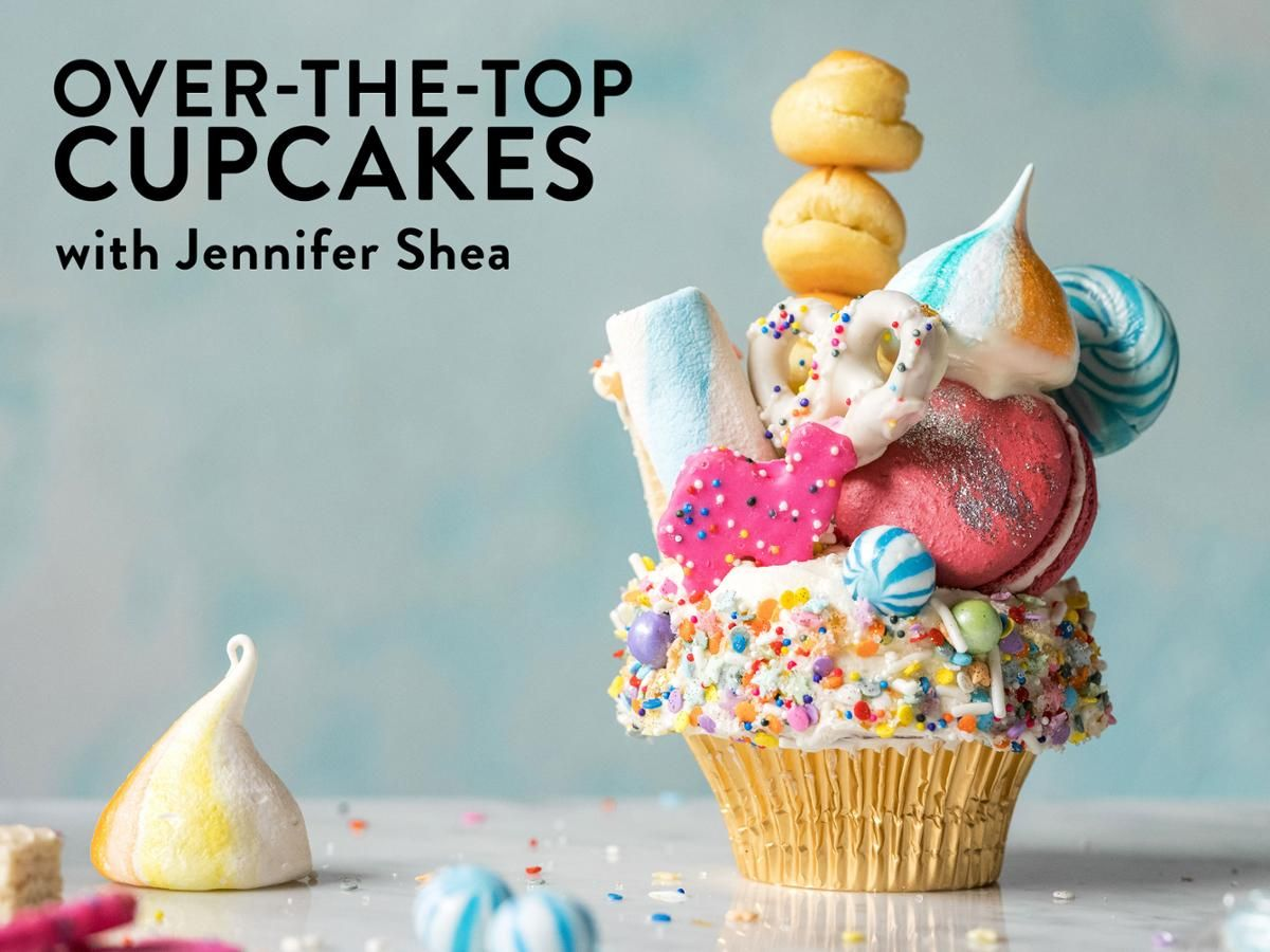 Over The Top Cupcakes With Images Savoury Cake Baking Mini Cakes