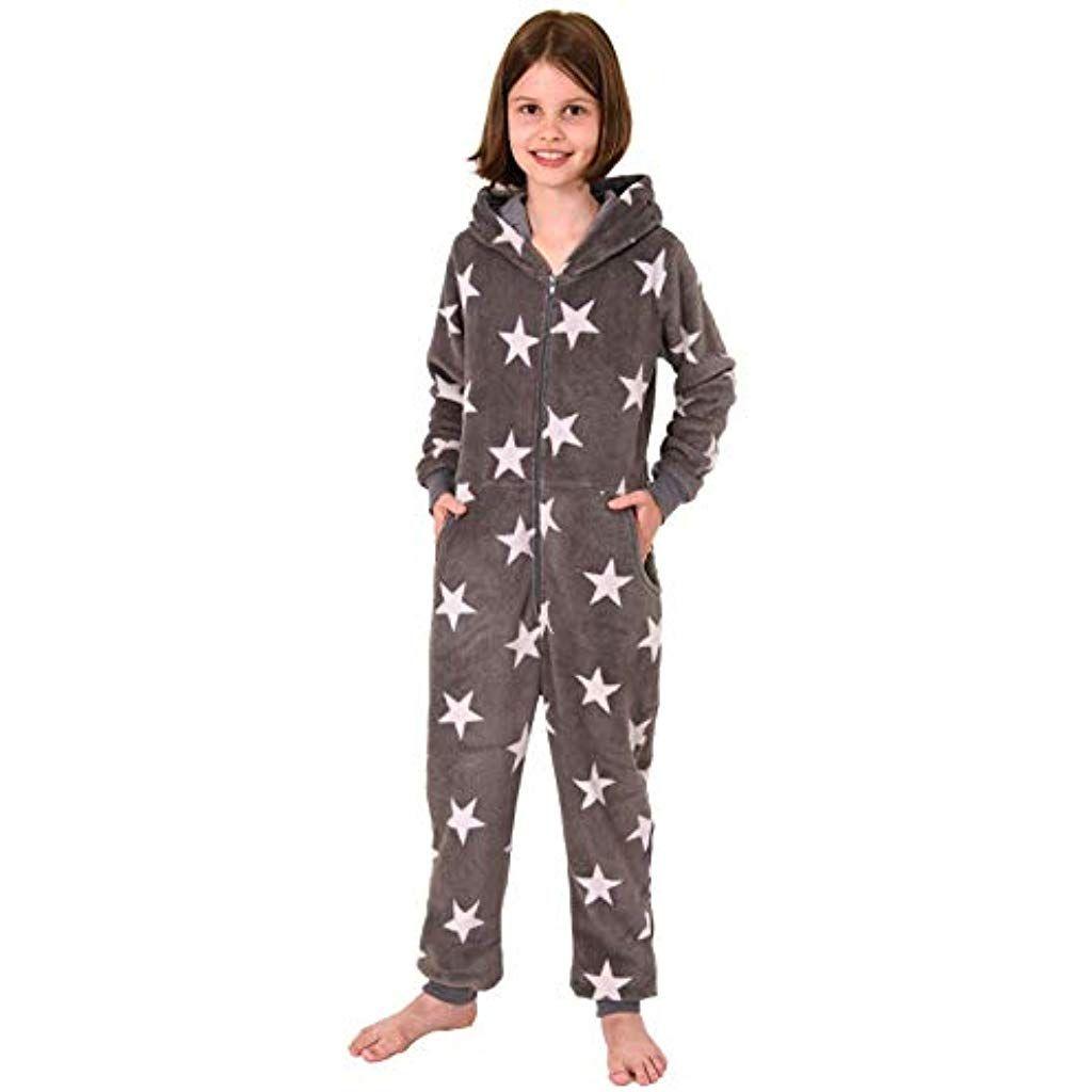 Toller M/ädchen Frottee Pyjama Schlafanzug Langarm mit B/ündchen 291 401 13 572