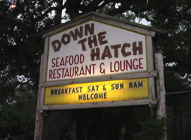Down The Hatch Daytona Beach Florida Wonderful Seafood