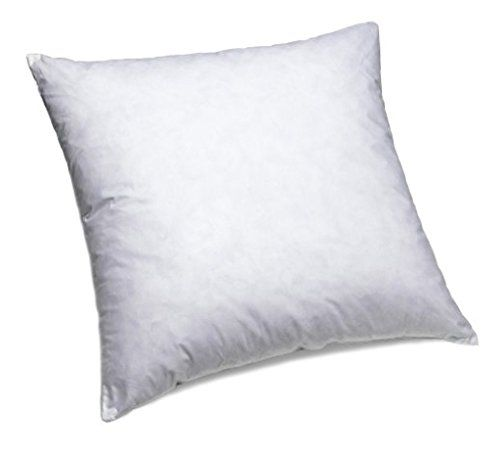 24X24 Pillow Insert Comfydown 95% Feather 5% Down 24 X 24 Square Decorative Pillow