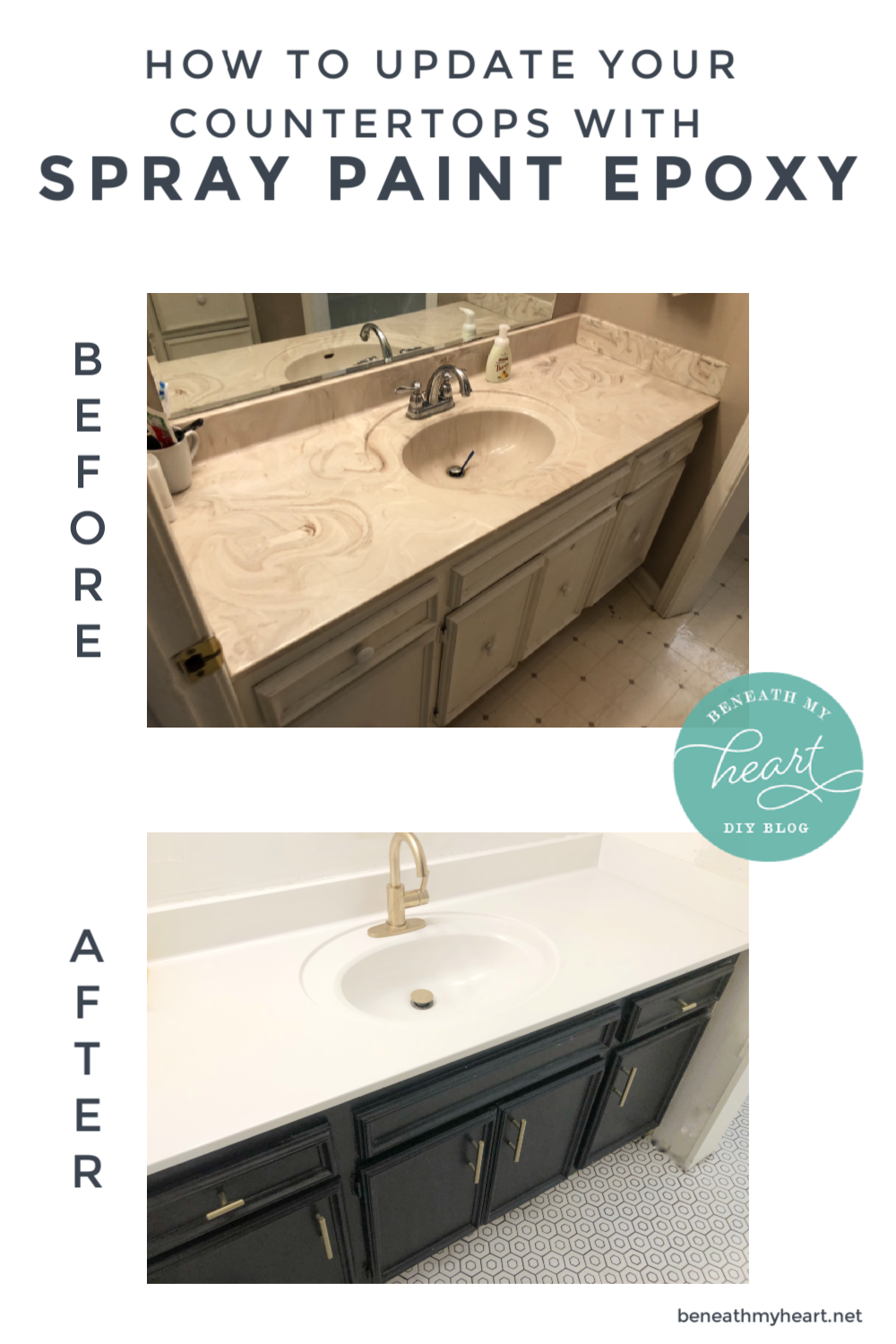 How to Update Your Countertops with Appliance Epoxy - Beneath My Heart