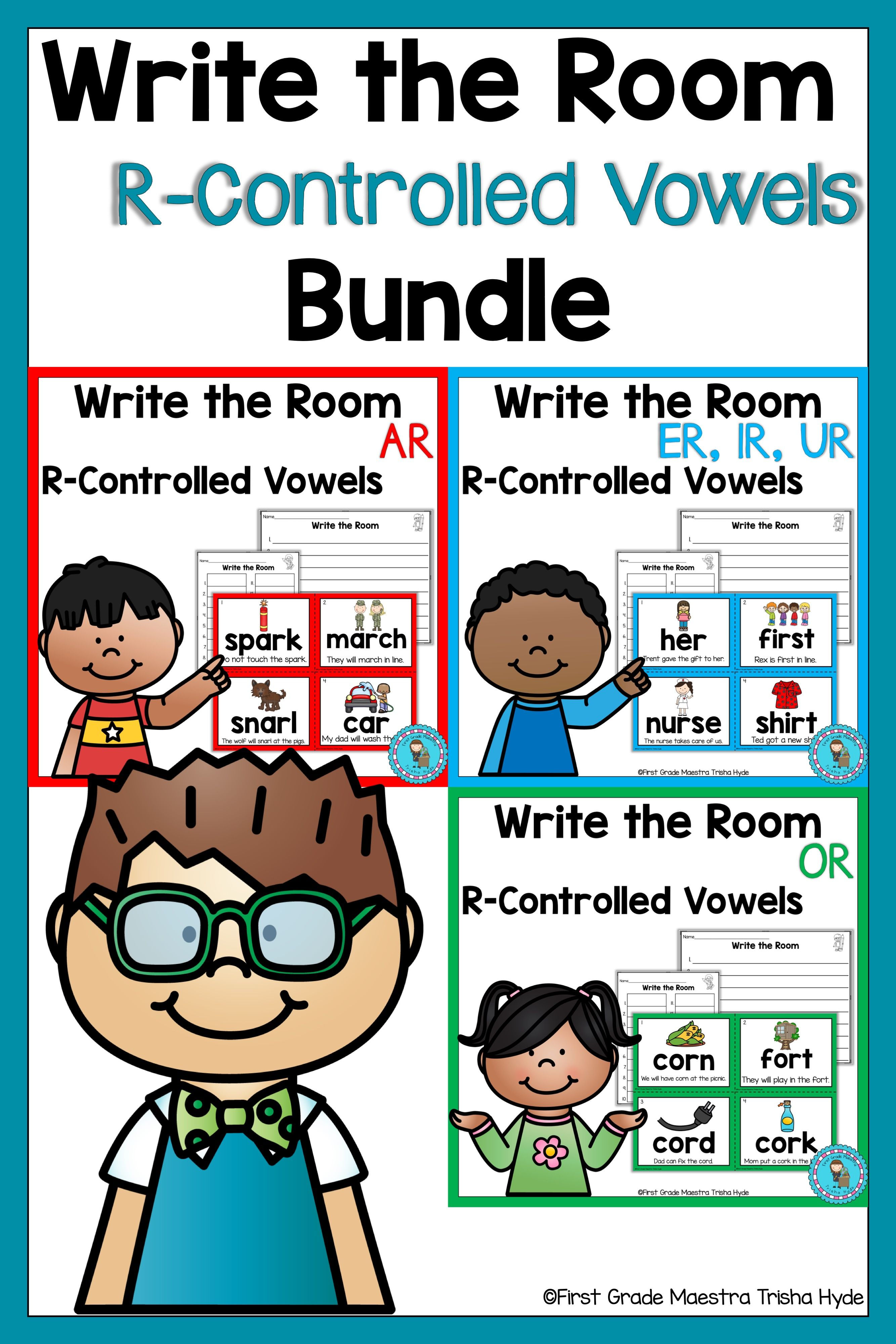 Write The Room R Controlled Vowel Bundle