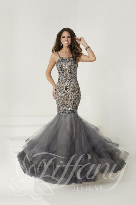 Long dresses at the Prom Store Tiffany Designs 16280 Tiffany Designs ...
