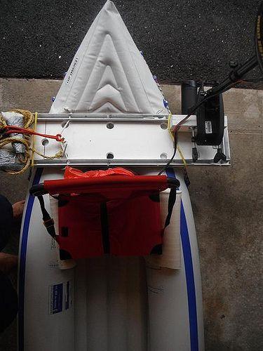 Mounting Trolling Motor On Aire Inflatable Kayak Google Search Inflatable Kayak Kayaking White Water Kayak
