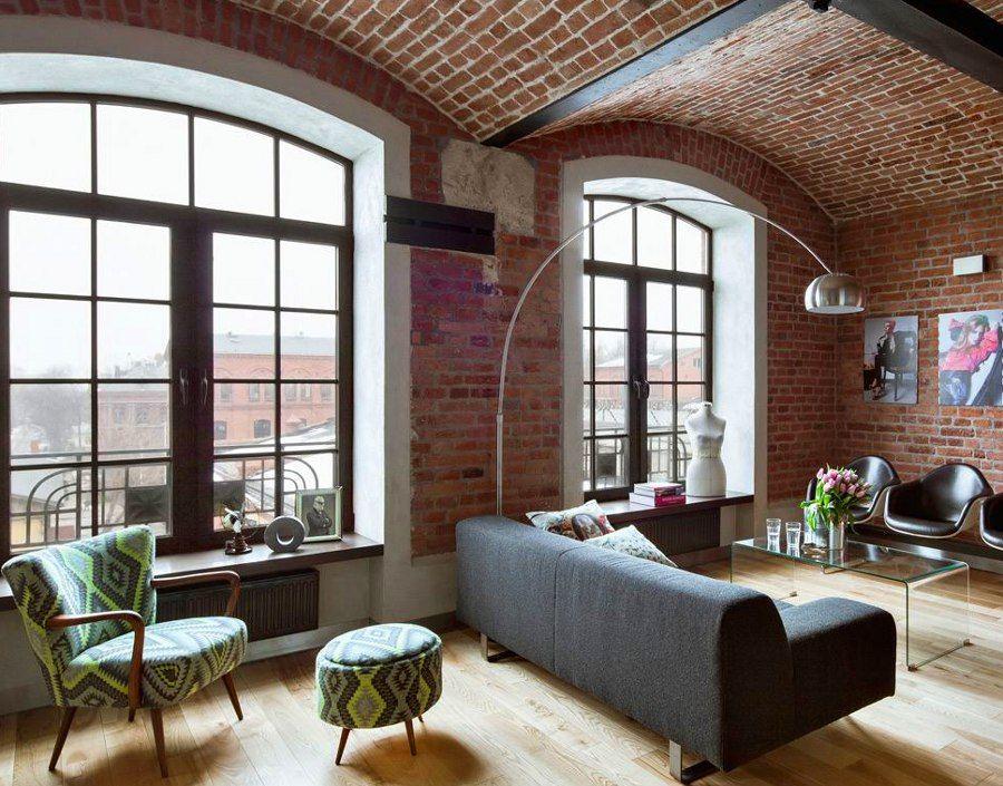 Charming 17 Surprisingly Versatile Interior Brick Wall Designs Part 7