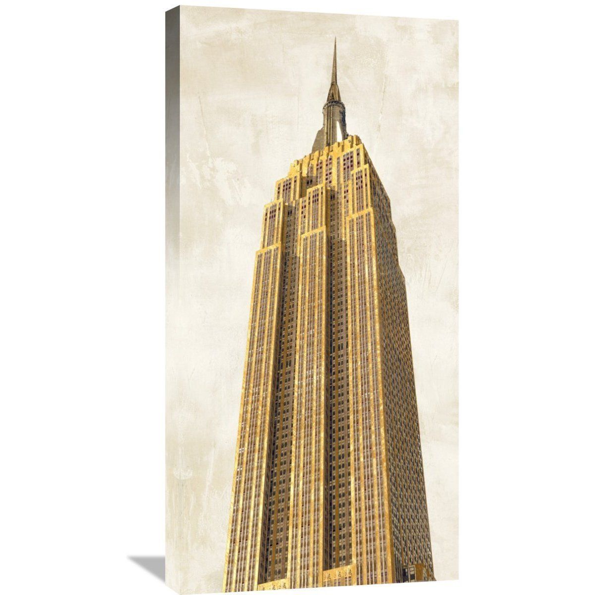Big Co Joannoo 'Gilded Skyscraper II' Stretched Artwork