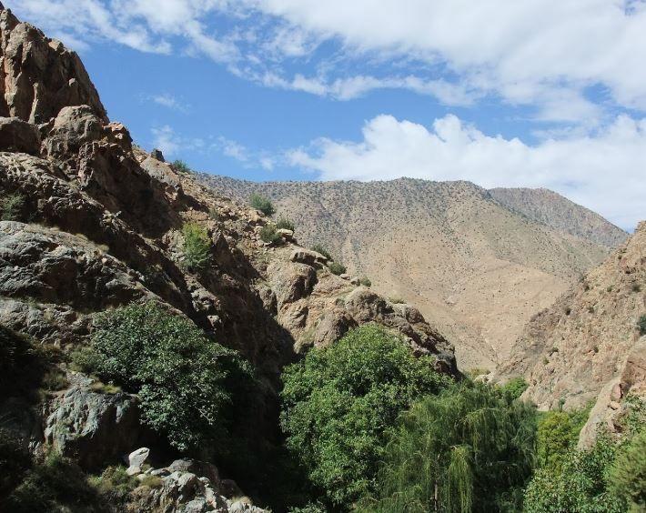 The High Atlas Mountains, Morocco The High Atlas Mountains, Morocco In the higher parts of the mou