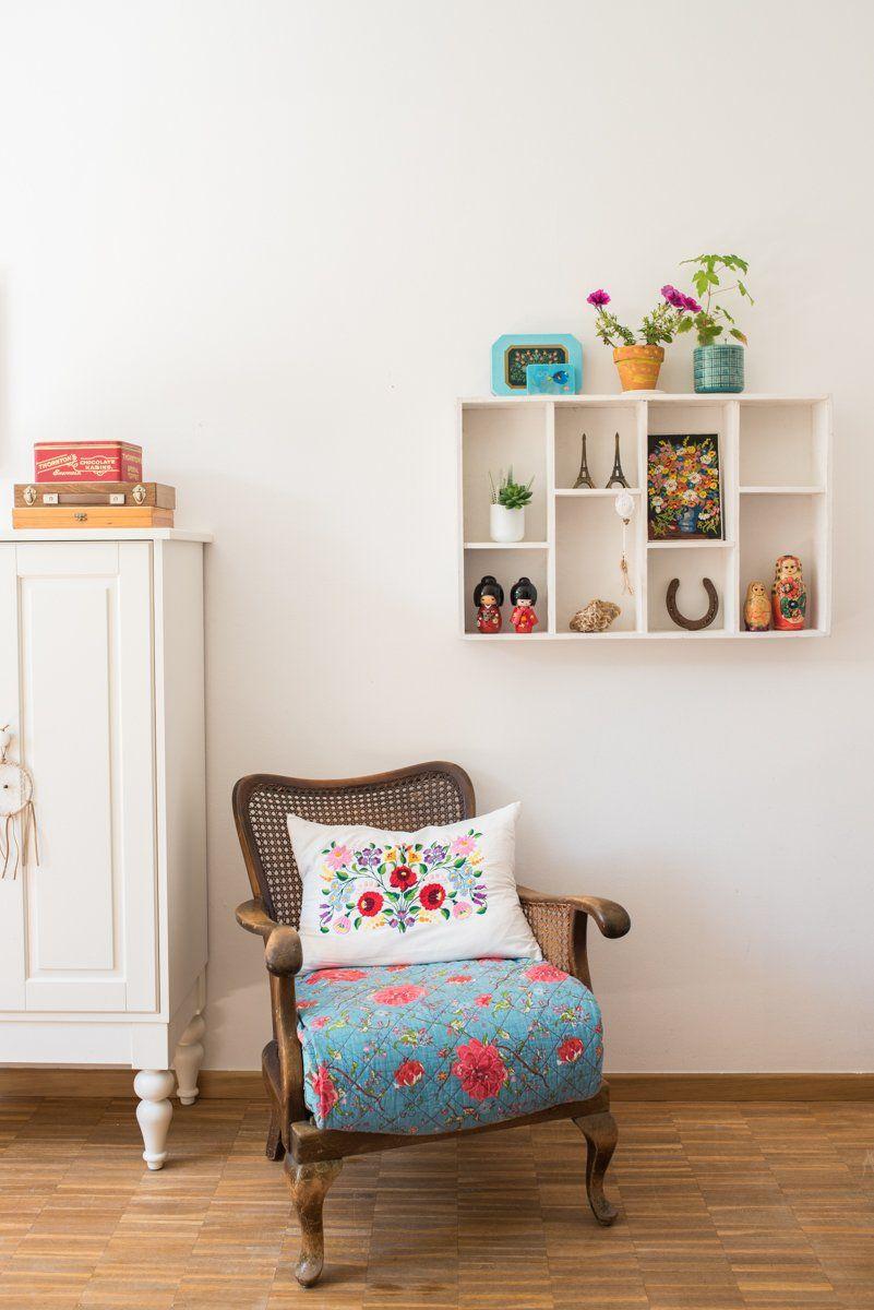 Mädchenzimmer update im Boho Look | Selbst bauen garderobe, vintage ...