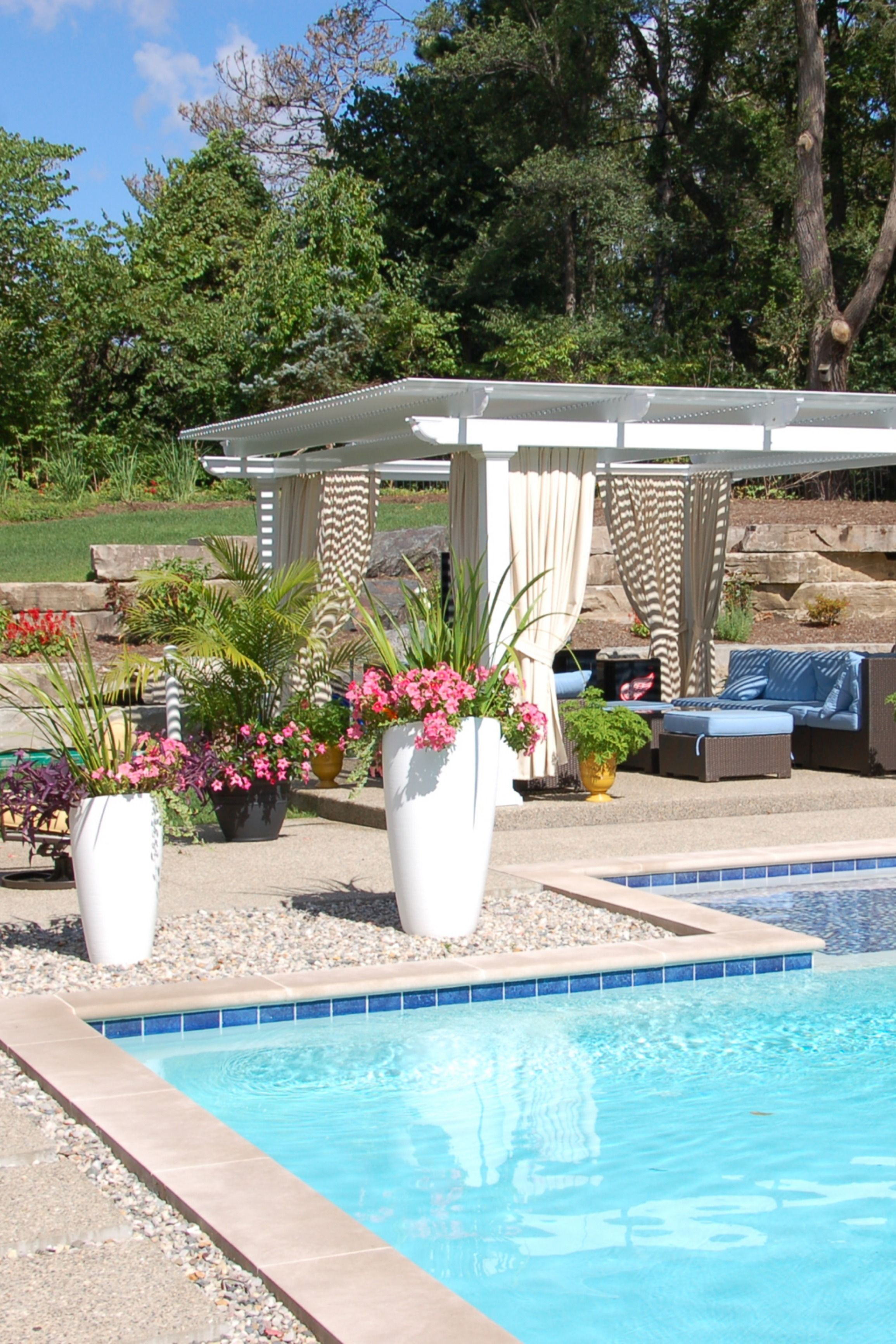 Long Lasting Pergolas For Homes Temo Sunrooms Backyard Garden Design Backyard Pool Landscaping