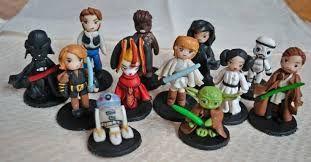 Resultado de imagen para personajes star wars fimo