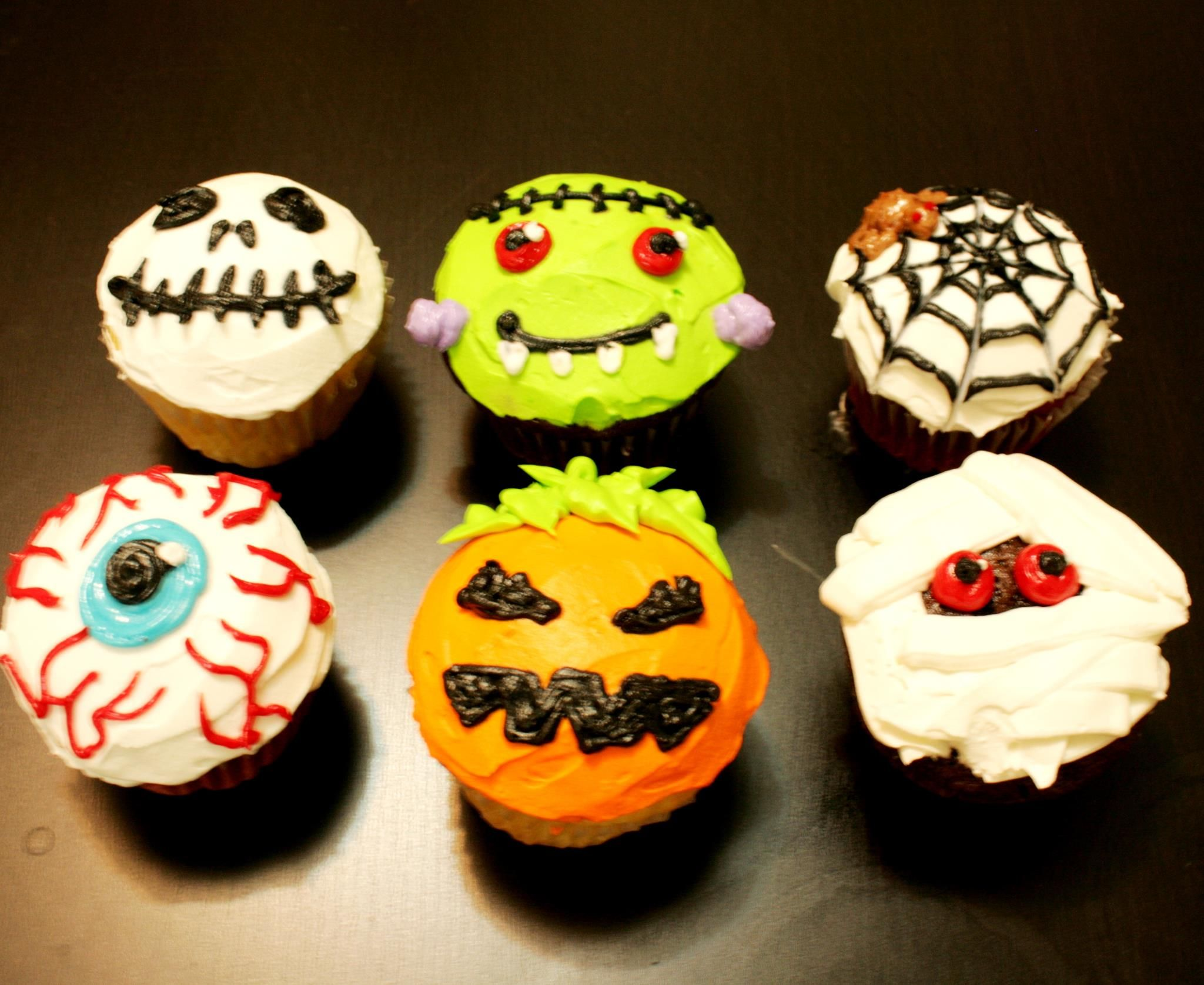 halloween cupcakes | halloween cupcakes I really like the eye balls! super easy! Cupcakes DecoratingCupcakes DesignDecorating ... & halloween cupcakes | halloween cupcakes I really like the eye balls ...