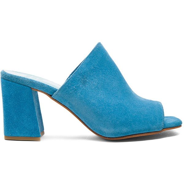 c14ad576924 Maryam Nassir Zadeh Suede Penelope Mules ( 410) ❤ liked on Polyvore  featuring shoes