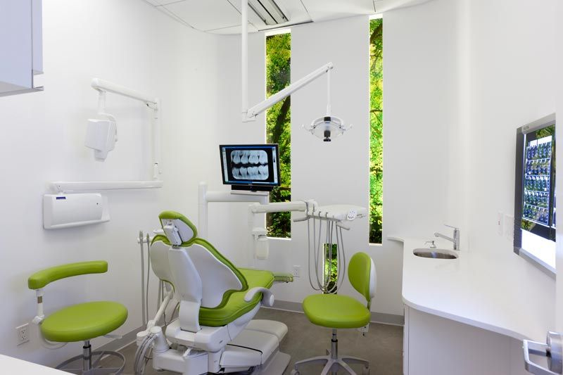 richard lee dds modern contemporary dental clinic interior design
