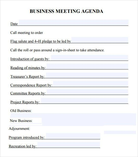 Business meeting template minutes templates pinterest meeting business meeting template fbccfo Image collections