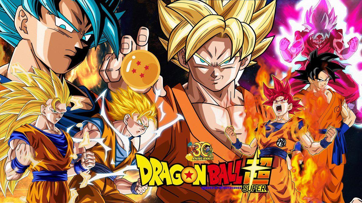 Dragon Ball Super Wallpaper Goku S Evolution By Windyechoes Dragon Ball Super Wallpapers Dragon Ball Wallpapers Dragon Ball Super