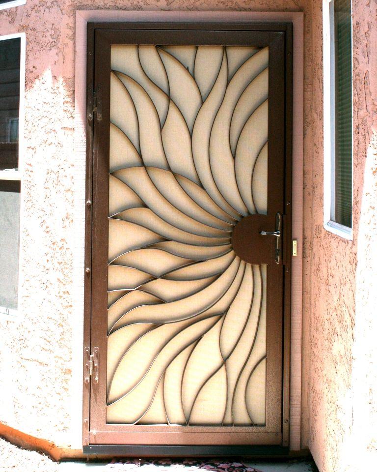 Swirl | Security screen, Doors and Security doors