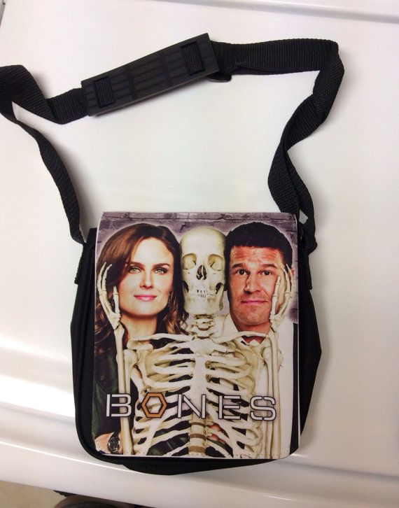 Bones Tv Show Small Messenger Bag By Famedazed On Etsy 19 99 I Need This