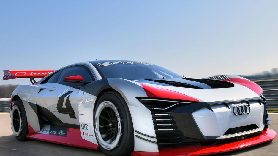 Audi Etron Vision Gran Turismo is a PlayStation dream