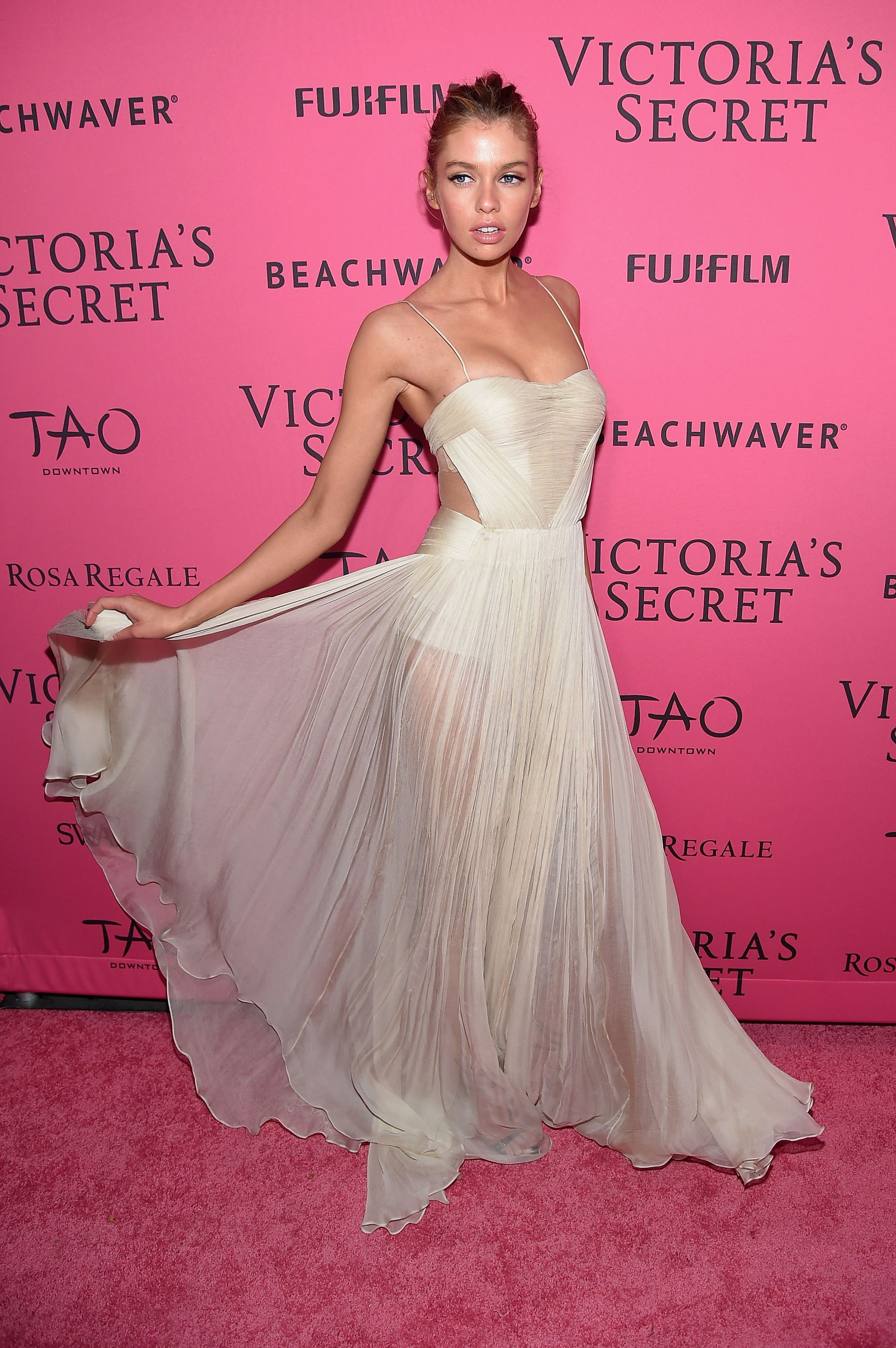 The after party outfits at the Victoria\'s Secret Fashion Show were ...