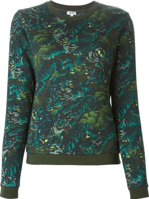 KENZO  Flying Tiger  Sweatshirt.  kenzo  cloth  sweatshirt   Kenzo ... 53deeb3db21