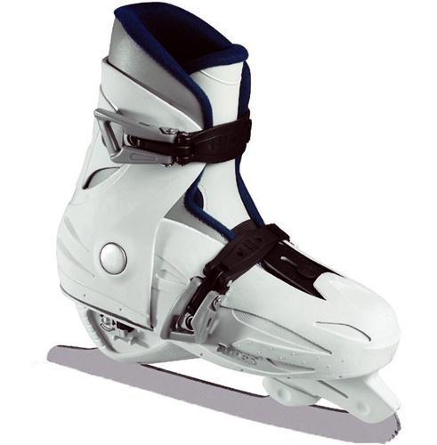 $100 for Adelle Roces MCK Adjustable Ice Skates JR White