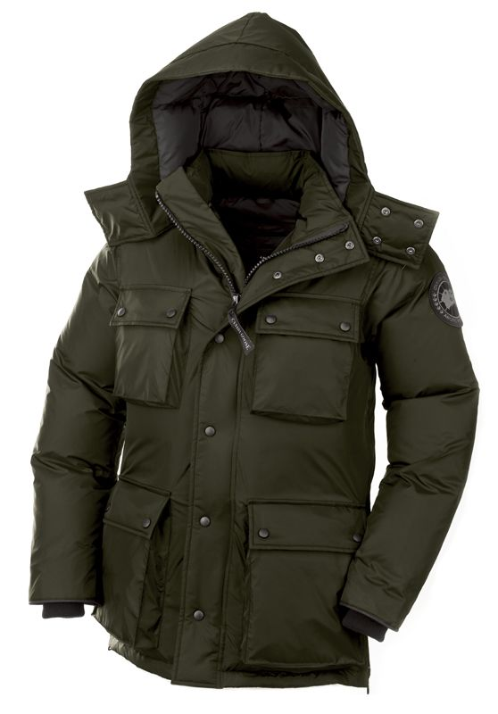 Canada Goose Manitoba Jacket: Military Green or Graphite