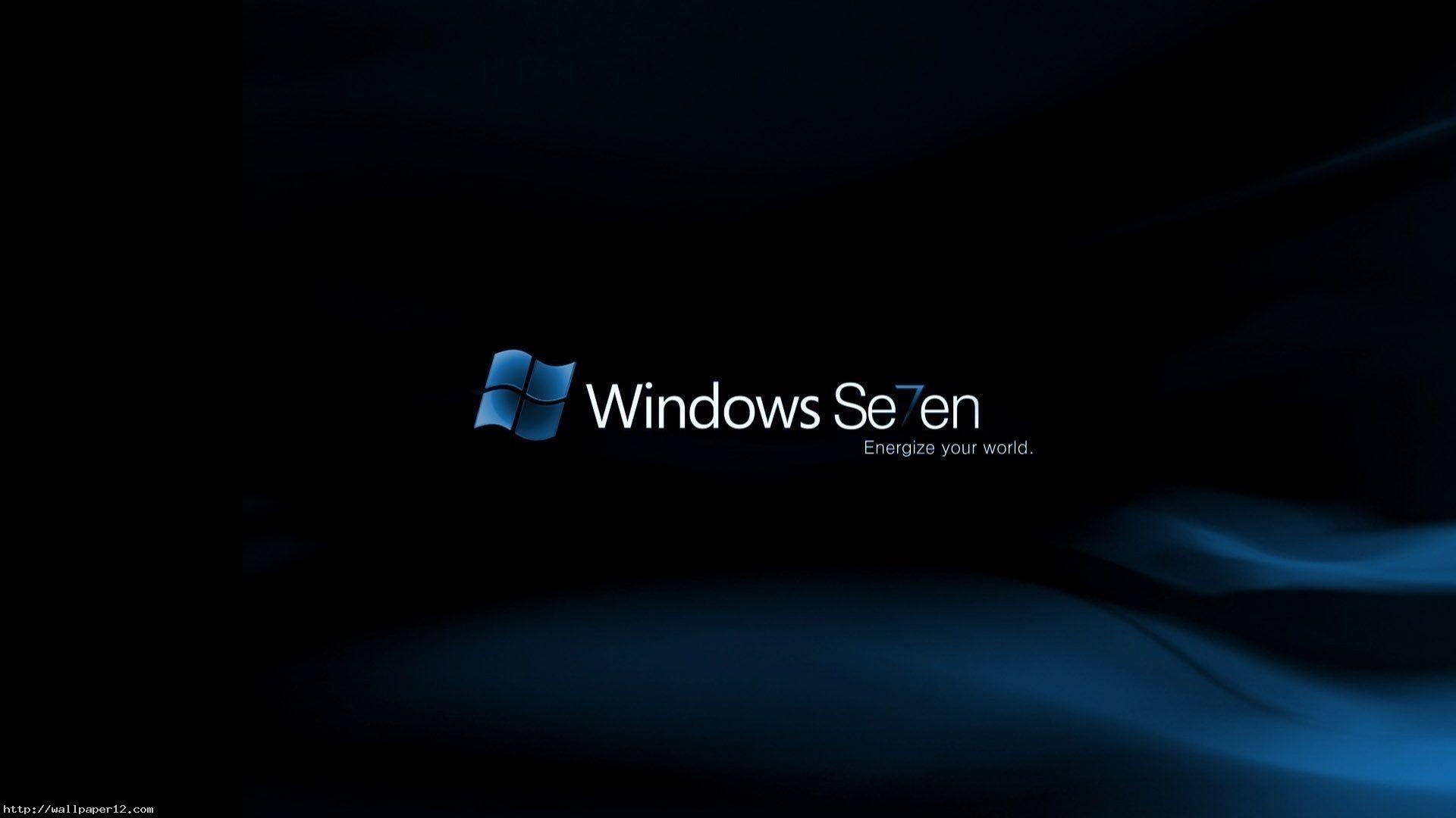 Download Wallpaper Windows Logo Blue Orange Steel 1920—1080 HD