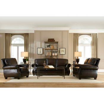 Costco marcella 3 piece leather set lake house ideas - Costco leather living room furniture ...