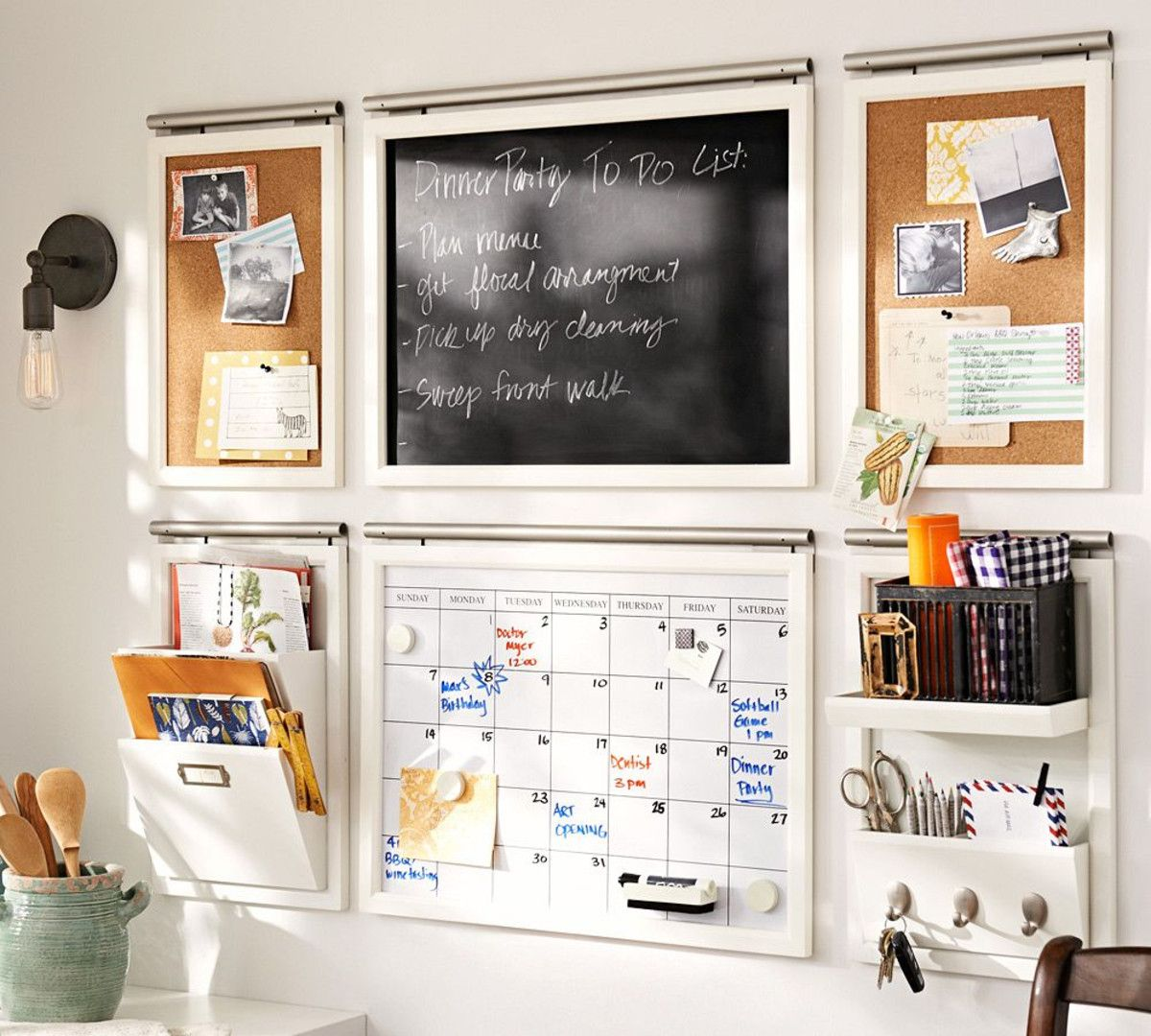 For the front entry way Daily Organisation System from Pottery Barn ...