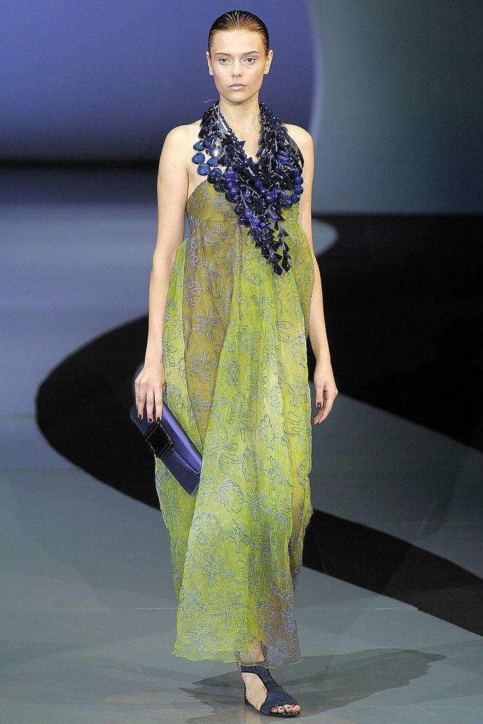 Emporio Armani Spring 2009 ReadytoWear Fashion Show