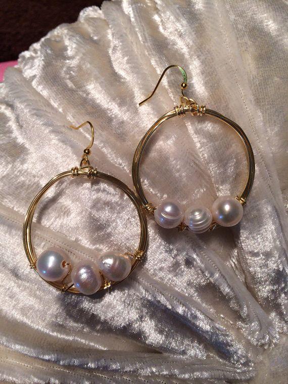Olivia Pearl earring