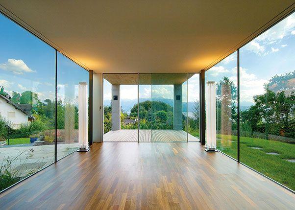 Rahmenlose Fenster rahmenlose fenster transparenz in ihrer schönsten form türen und