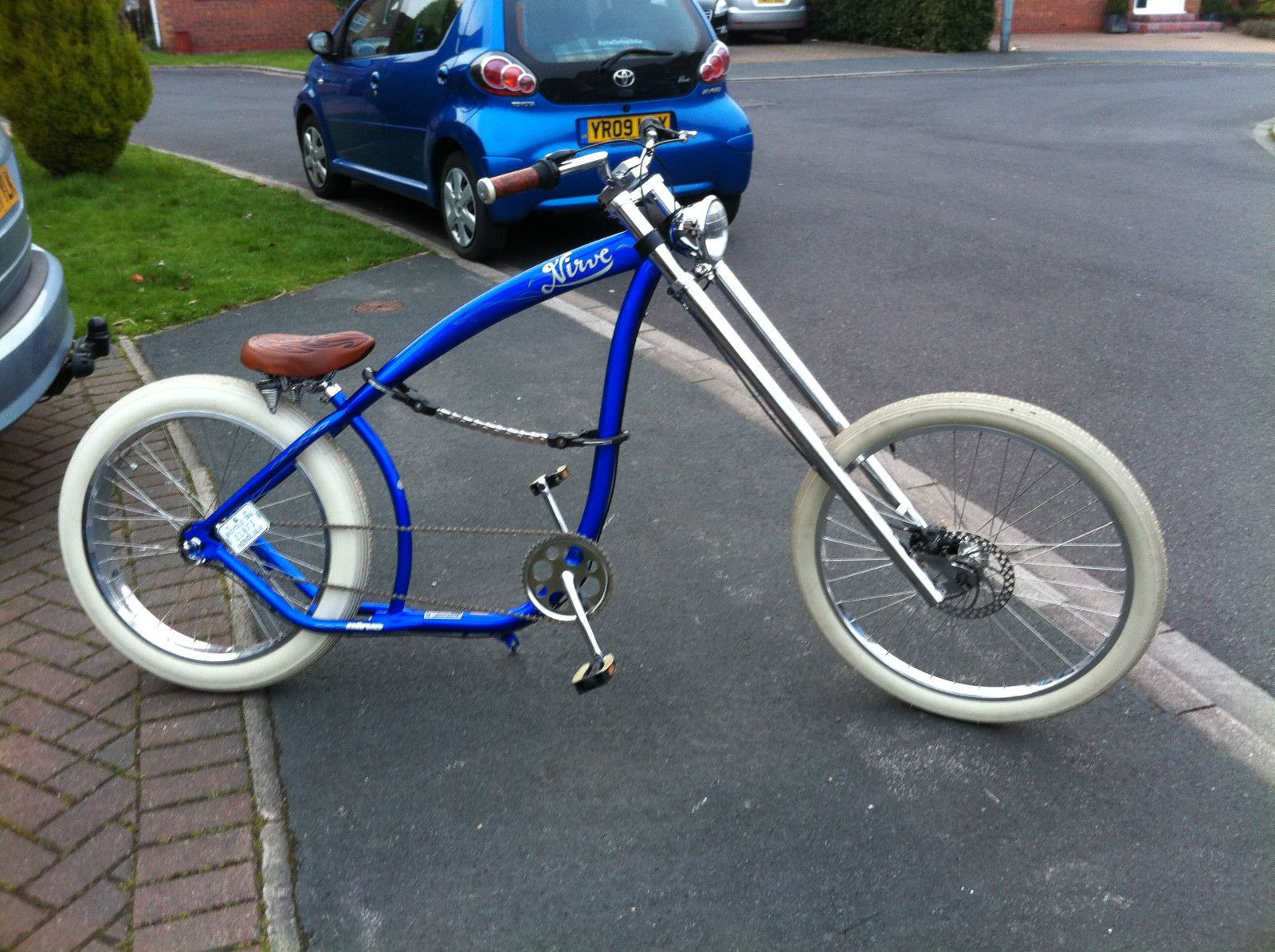 Nirve Switchblade Chopper Bicycle Custom Modified Cruiser