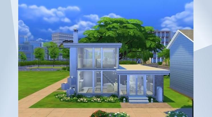 Check out this lot in The Sims 4 Gallery! - Small 2 BR 2 & Check out this lot in The Sims 4 Gallery! - Small 2 BR 2 bath ...