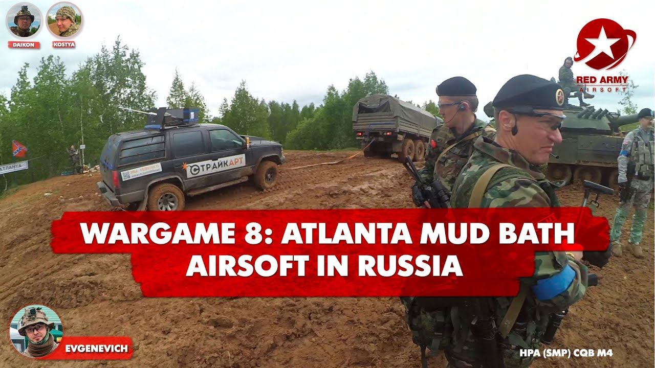 Airsoft Gameplay Armored War Viii In Russia Atlanta Mud Bath