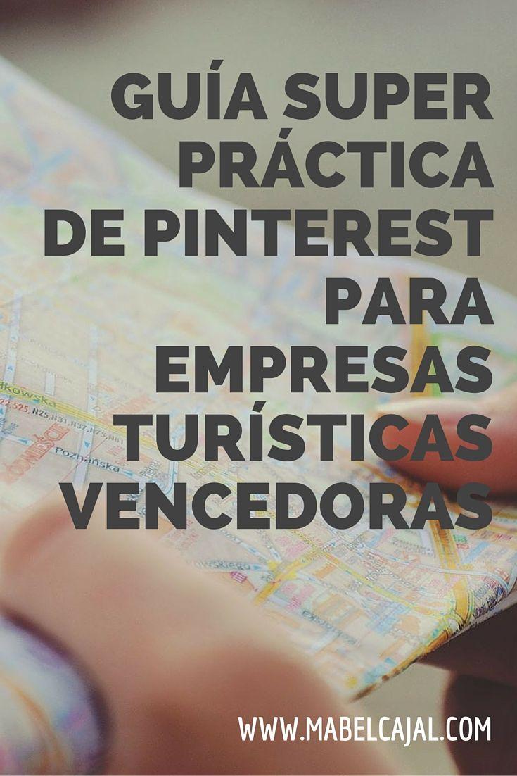 Gracias a su carácter visual, Pinterest es la plataforma ideal para el turismo. #PinterestTipsenEspañol