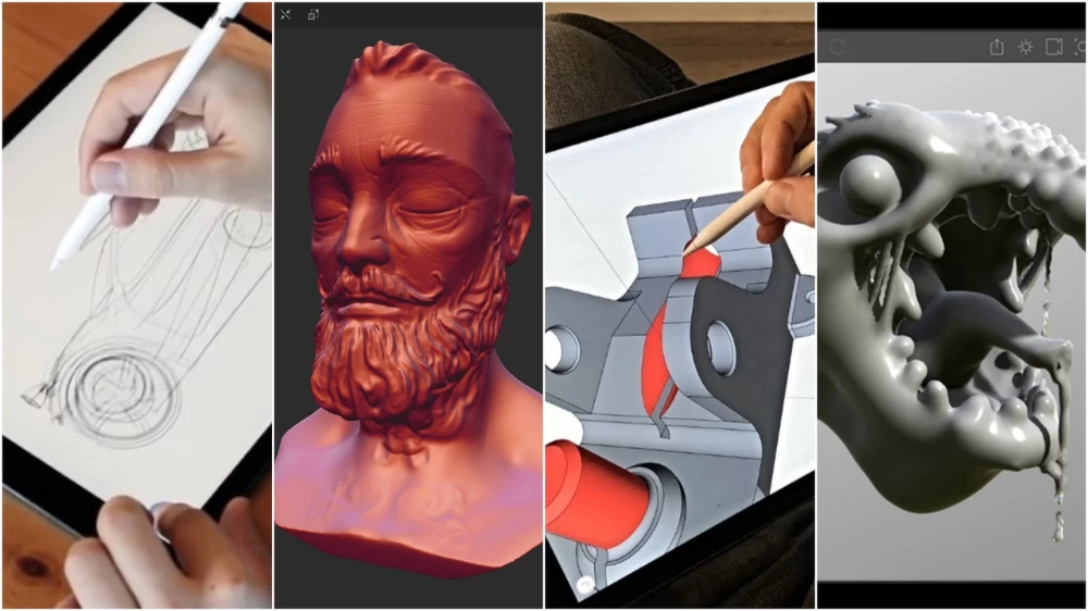 Best 3d Design Apps For 3d Modeling Ipad Android App Design App Design Ipad 3d Design App