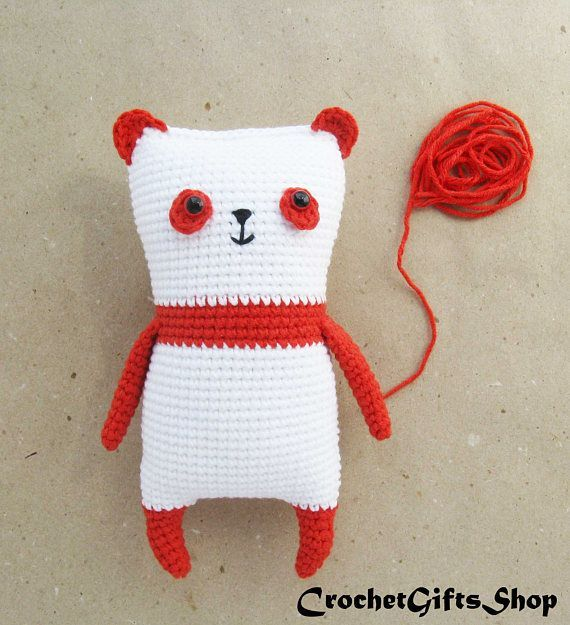 Amigurumi Panda Crochet pattern with Instant Download pdf Cute ...