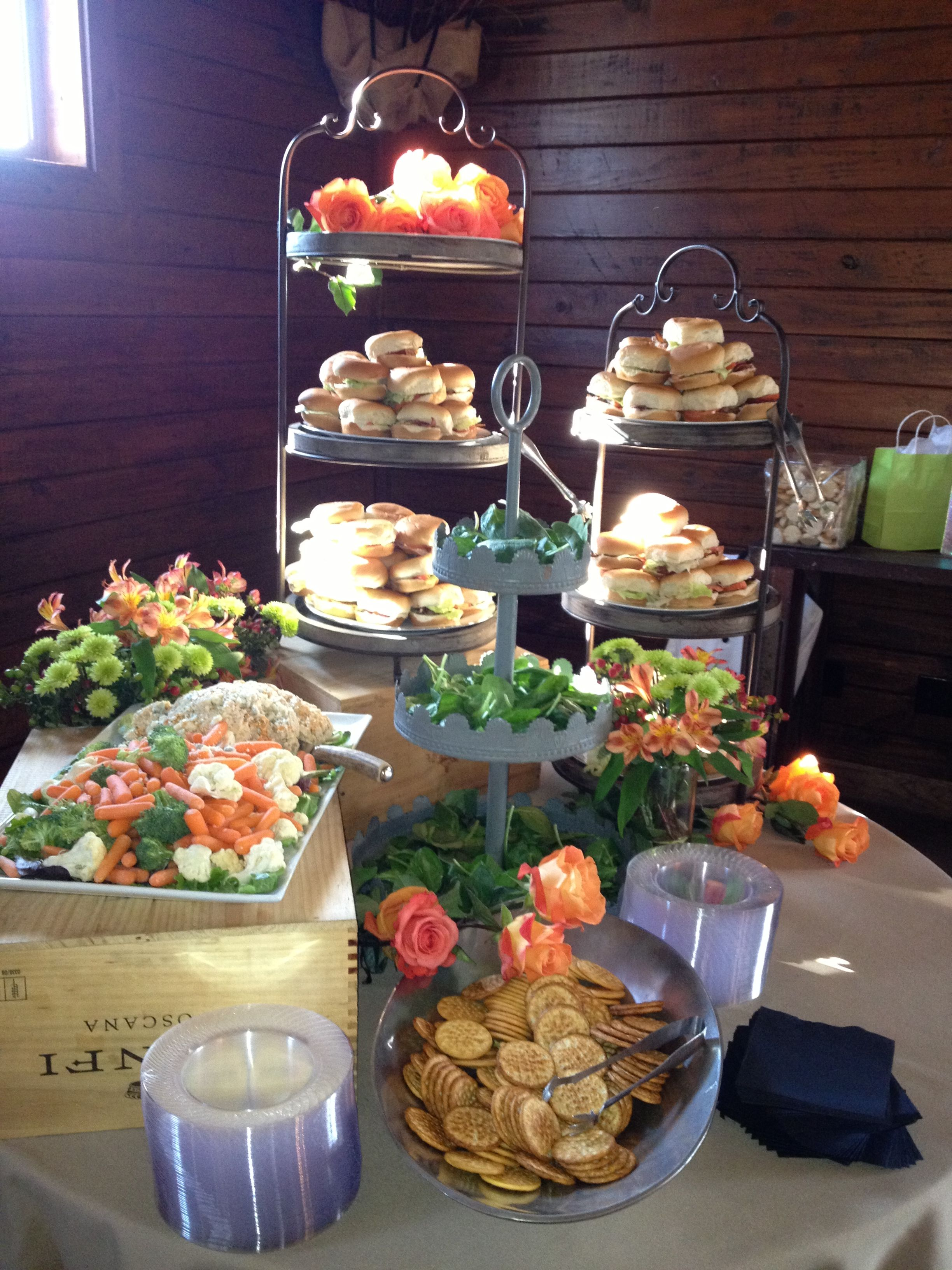 Heavy Hors D Oeurve Station Wedding Hors D Oeuvres Wedding