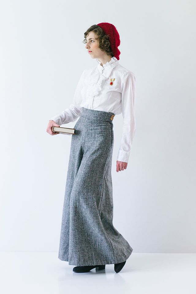 Introducing... The Linden Lady Palazzo Pants Pattern! | Pants ...