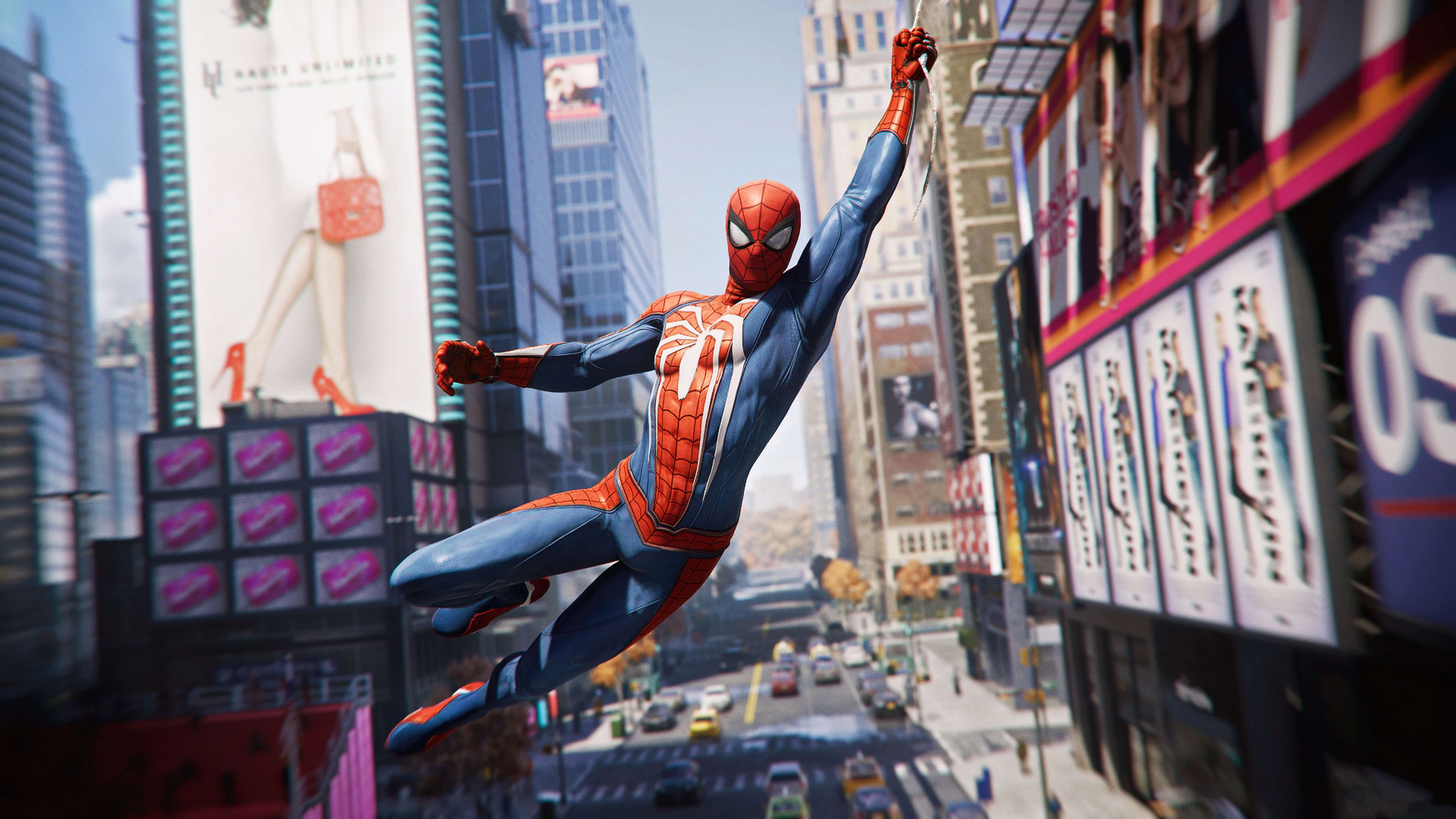 Marvel Spider Man Digital Wallpaper Marvel Comics Spider Man 2018 Spider Man 4k Wallpaper H Spider Man Playstation Spiderman Ps4 Spider Man Playstation 4