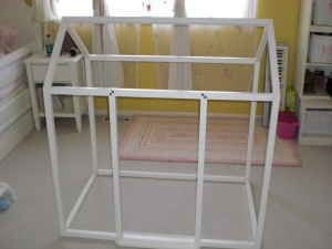 Pottery Barn Kids Playhouse Frame Discontinued And Very Hard To