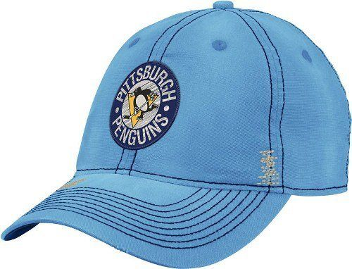 Pittsburgh Penguins CCM Throwback Sandblasted Slouch Flex Hat by Reebok.   21.95. Support your team 78367dd2fa7a