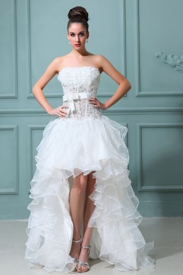 d92aed2a515 Robe de mariée courte   robe de mariée vintage