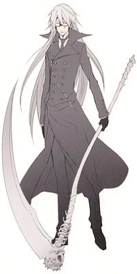 Black Butler Undertaker Version Shinigami