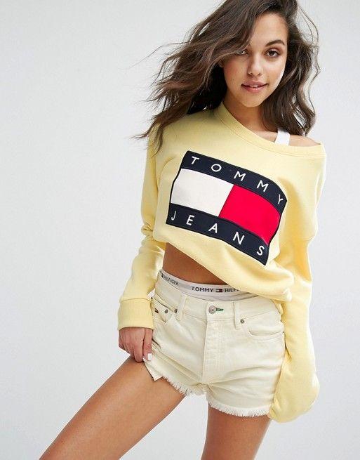 c7343dfc5d0cf Tommy Jeans 90 s Sweatshirt